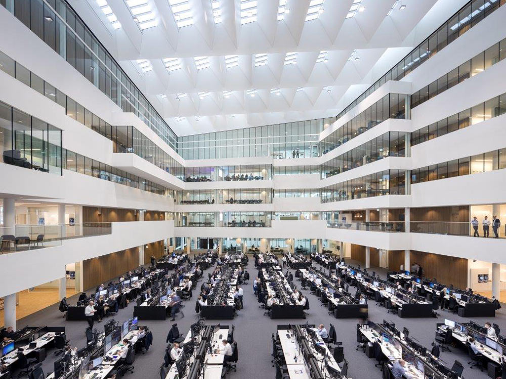 State of the art trading floor